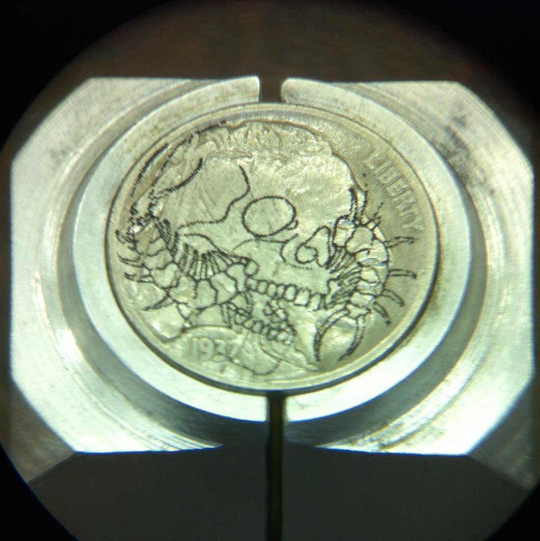 Skull_Centipede_Hobo_Nickel_1